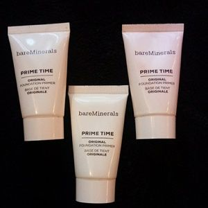 bareMinerals PRIME TIME fountain primer BUNDLE! 3